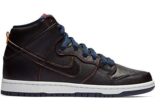 buy popular 8336b 6d174 Nike SB Dunk High Pro  NBA  Black Black-College Navy ...