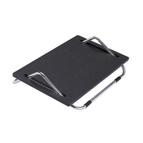 Safco 2105 Ergo-Comfort Adjustable Footrest 18-1/2w x 11-1/2d x 5h Black