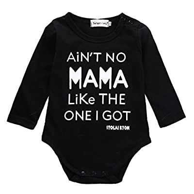 Newborn Infant Baby Boy Clothes T-shirt Aren't Mama Like The One I Get Romper Set