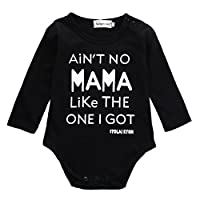 Newborn Infant Baby Boy Clothes T-shirt Aren't Mama Like The One I Get Romper...