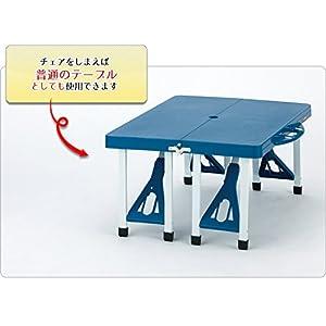 武田CORP. ピクニックテーブル PT001-BL