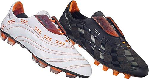 fussballschuh/Soccer Boot Aspero Classic 2.0MS, nocke Suela, Negro, piel de ternero, talla 402/3, UK 7, US 7.5, cm 25.5, negro / naranja, 40 2/3