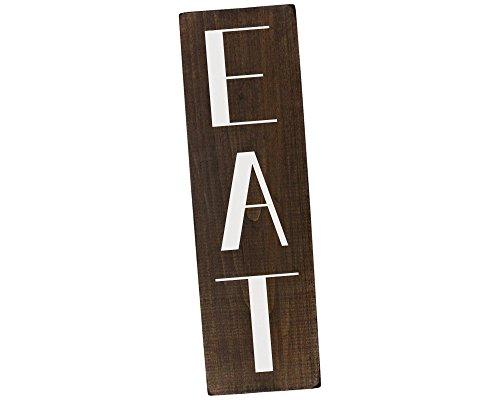 Elegant Signs Kitchen EAT Sign Farmhouse Decor (Eat Wall Decor)