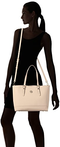 Hilfiger Medium Honey Cuban Tommy Borse Tote Beige Tote Solid Sand Donna qCEAnxdW5
