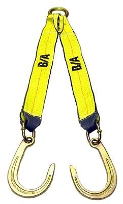 BA Products N711-8C V Strap, Short J Hook