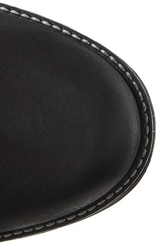 black 26269 Bottes Femme Rangers Comb Noir Tamaris FXqd0F