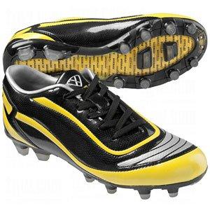 Vizari Finale FG Soccer Cleat - Black/Yellow/Silver - 12 M US Mens