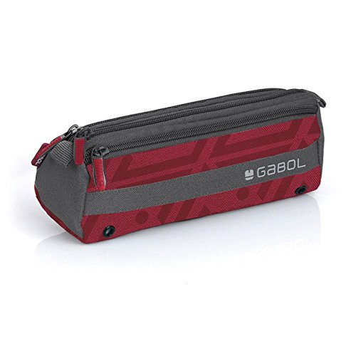 GABOL - Estuche Escolar Gabol Nexus Azul, color Rojo: Amazon ...
