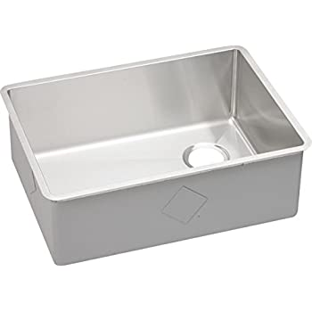 Superior Elkay Crosstown ECTRU24179R Single Bowl Undermount Stainless Steel Kitchen  Sink
