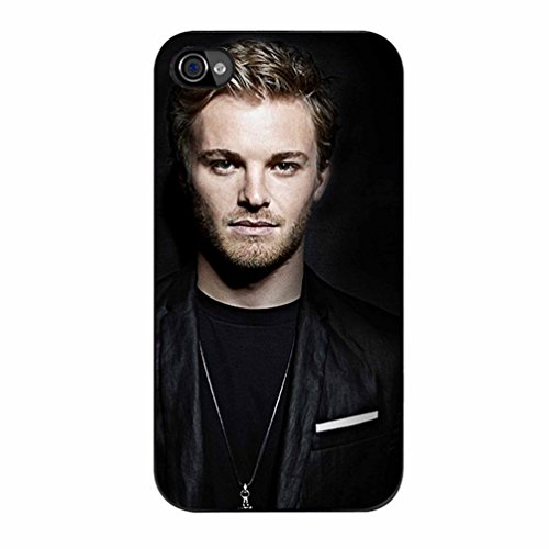 Nico Rosberg Photoshot Case / Color Black Rubber / Device iPhone 4/4s