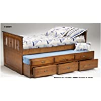 Trundle Bed with Side Rails