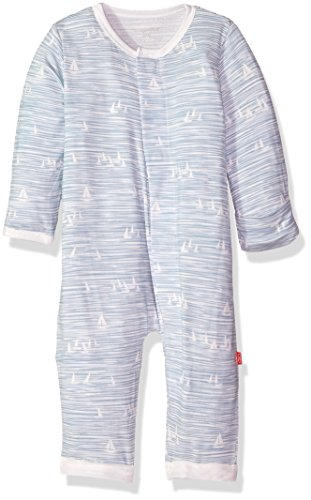 Magnificent Baby Infant Magnetic Modal Coverall,