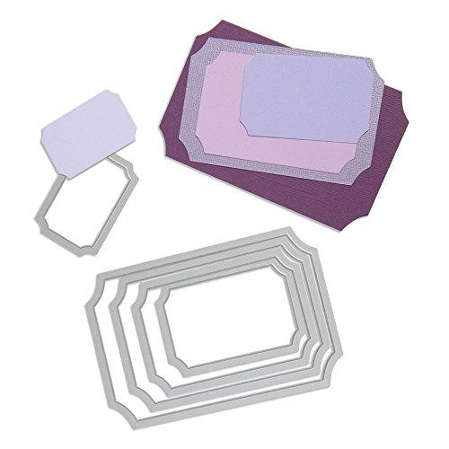Sizzix Framelits Die Set 5/PK - Tickets (Big Ticket)