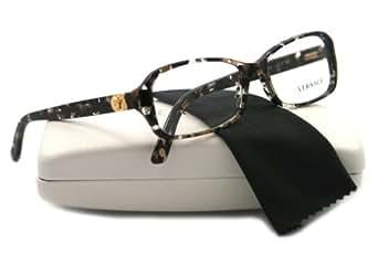 Versace VE3146B Eyeglasses (876) Spotted Brown/Black/Crystal 51 mm