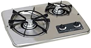 Atwood (56494) DV 20S Stainless Steel Drop-In 2-Burner