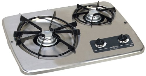 Atwood (56494 DV 20S Stainless Steel Drop-In 2-Burner