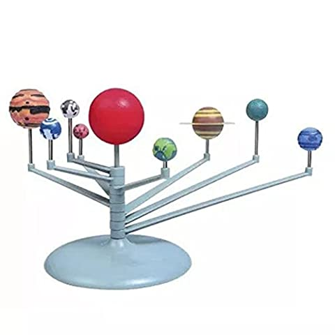 Toponechoice New Fashion Education DIY Toys Solar System Planetary Model Making Kit Children's Science for Kids Babies