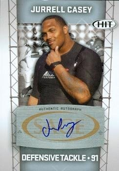 99754 Jurrell Casey Autographed Football Card Usc 2011 Sage Hit Rookie Silver No. A31 ()