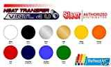 """Office Products : Heat Transfer Vinyl Siser Reflectall 20"""" X 12"""" - Silver"""