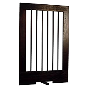Cardinal Gates 4-Panel Tall Pet Gate Extension, Walnut Click on image for further info.
