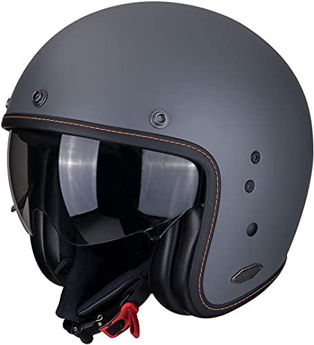 Scorpion Unisex– Erwachsene NC Motorrad Helm, Grau, M