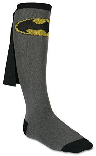 Batman Cape Knee High Socks 1 x 1in