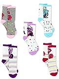 My Little Pony Girls 5 pack Crew Socks