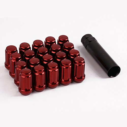 Red Tuner Lugs Nuts - 9