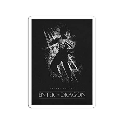 KoutYukshop Sticker Motion Picture Enter The Dragon Movies Video Film (3