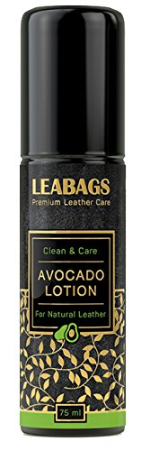 - LEABAGS AVOCADO PREMIUM LOTION Non Toxic Natural Leather Care Cleaner - 75 ml