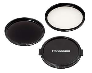 Panasonic VW-LF49N - Filtro ND 49mm y protector MC, color negro