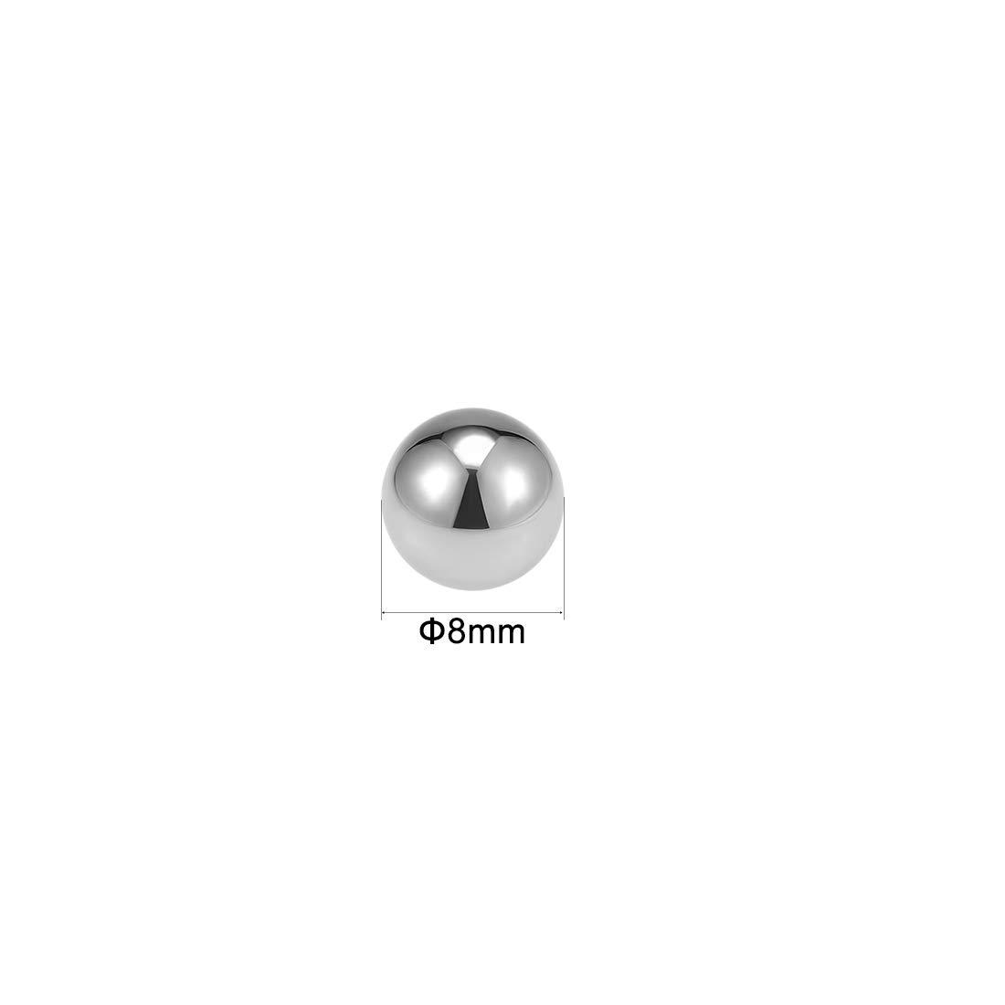 uxcell Bearing Balls 15mm Chrome Steel G25 Precision 60-63 HRC 20pcs