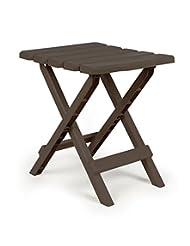 Camco 51882 Regular Quick Folding Adirondack Side Table - Moc...