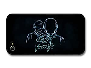 iphone covers Daft Punk Blue Black Background Illustration case for Iphone 6 plus