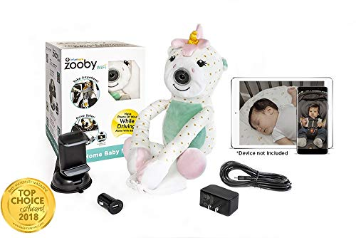 Zooby WiFi Direct Portable Video Baby Monitor The Only Truly Mobile Baby  Camera for Ho