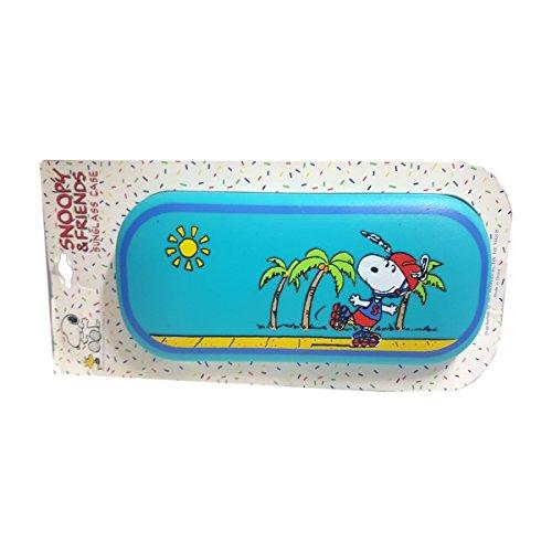 Snoopy & Friends Sunglass Eyeglass Case Roller-skating Boardwalk Snoopy (Small Roller Board)