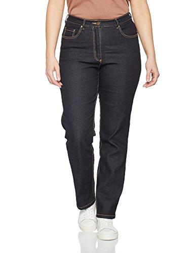 Denim Popken Straight K Jeans Ulla Regular Fit Stretch Dark Blue Women's 93 vUqnRwYd