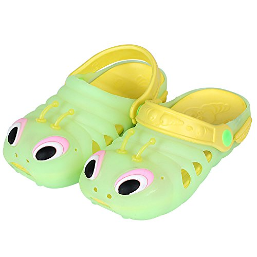 Image of Luckyauction Toddler Kids Summer Cartoon Baby Shoes EVA Caterpillars Beach Sandals Summer Walking Sandals