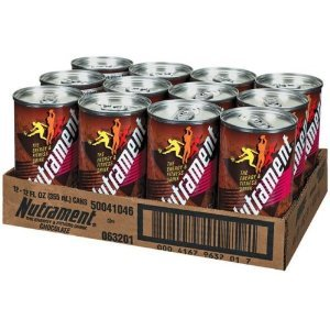 Nutrament Energy & Fitness Drink Chocolate Cans 12 X 12oz Case **2 CASE SPECIAL**