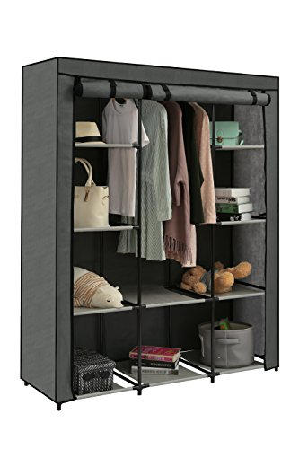 This Is A Fashionable And Practical Fabric Clothes Wardrobe For Your  Bedroom.Loft Style,quite Stylish For Men And Ladies To Use.You Can Hand  Daily Wearing ...