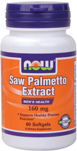 NOW Foods Saw Palmetto 160mg, 480 Softgels