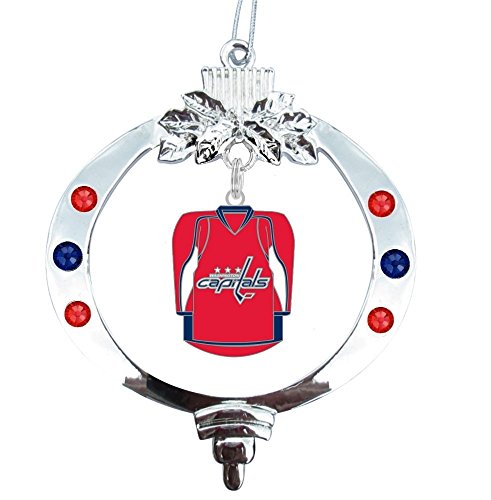 Christmas Decorations Store Vancouver: Washington Capitals Tree Ornament, Capitals Tree Ornament