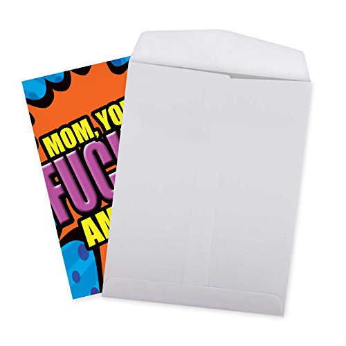 J2084MDG Jumbo Funny Mother's Day Card: Amazing Mom With Envelope (Extra Large Version: 8.5'' x 11'') Photo #4