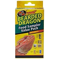 Zoo Med Laboratories SZMFSP2 Bearded Dragon Food Sampler