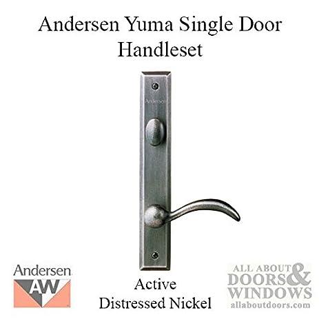 Andersen® Yuma Style (Single Active) Hinged Door Hardware Set in ...
