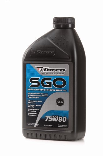 Torco A257590CE 75W-90 Synthetic Racing Gear Oil