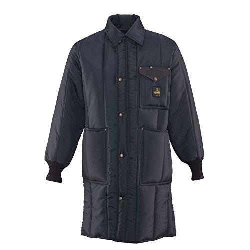 RefrigiWear Men's Iron-Tuff Inspector Coat, Navy XL by Refrigiwear