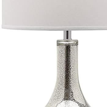 Safavieh Lighting Collection Mercury Silver 33-inch Table Lamp