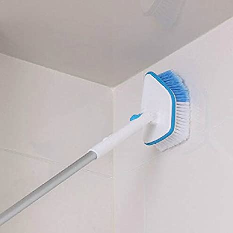 Buy Bathroom And Kitchen Cleaning Brush With Long Retractable Handle