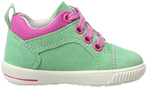 Superfit Baby Mädchen Moppy Sneaker Grün (Mint Kombi)